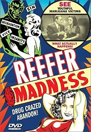 Anti Cannabis Poster Reefer Madness