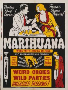 Anti Cannabis Poster