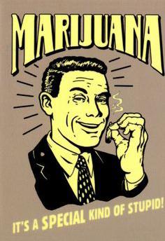 Anti cannabis werbung