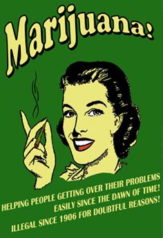 Anti Marihuana Poster