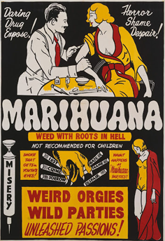 Anti Marihuana Poster 1930's