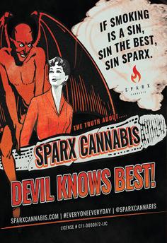 Anti Cannabis Werbug Poster