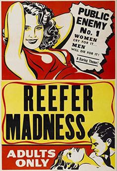 Anti Cannabis Poster 1930s