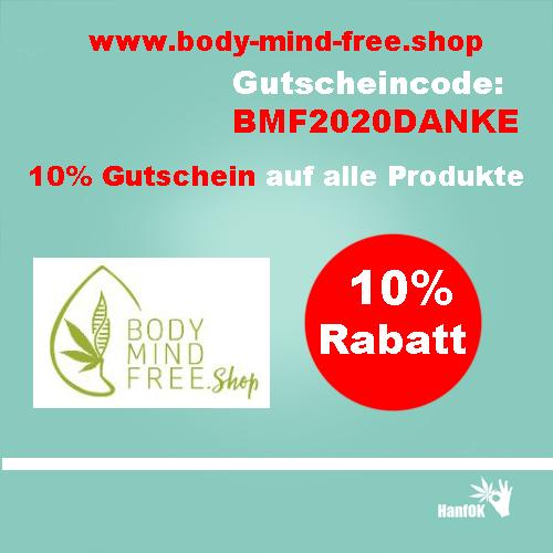 10 Prozent Rabatt bodymindfreeshop