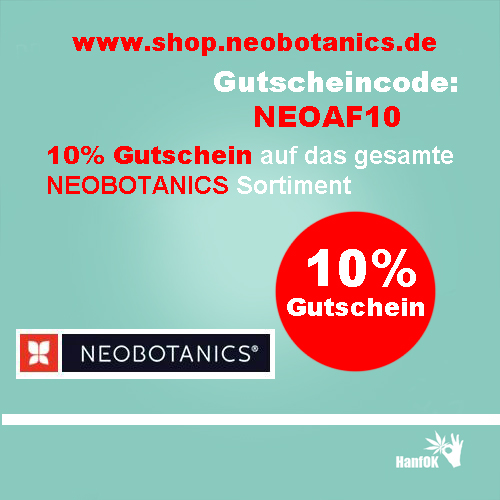 10 Prozent Rabtt Neobotanics