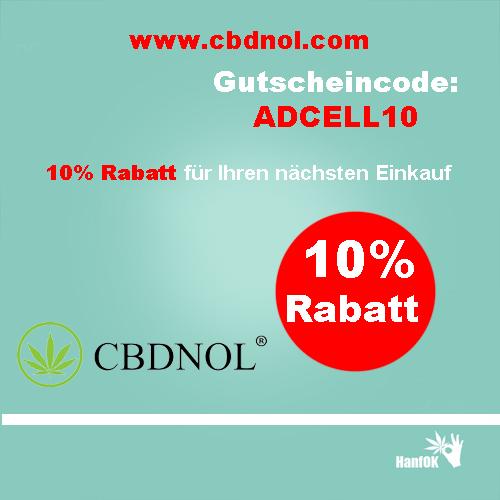 10 Prozent Rabtt cbdnol