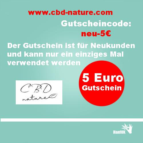5 Euro Gutschein CBD Nature