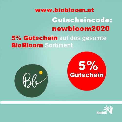 5 Prozent Rabatt BioBloom