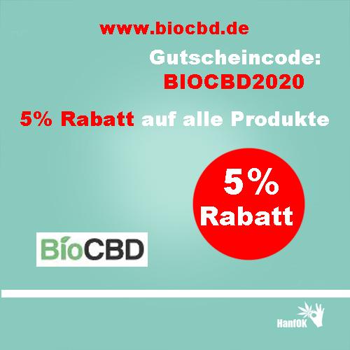5 prozent rabatt biocbd