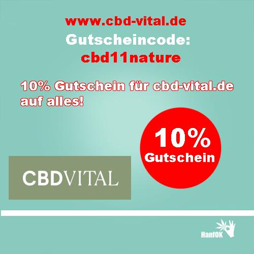 cbd vital 10% Rabatt