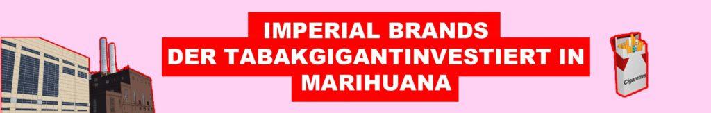 iperial brands investiert in cannabis