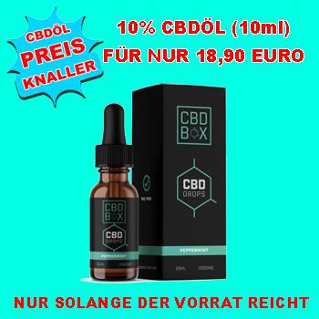 Deutschlands günstigstes CBDÖL 10%